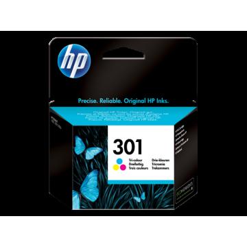 HP 301 ÜÇ RENKLİ MÜREKKEP KARTUŞ CH562EE (1)