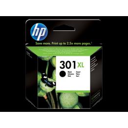 HP 301XL YÜKSEK KAPASİTELİ SİYAH MÜREKKEP KARTUŞ CH563EE