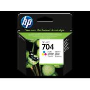 HP 704 ÜÇ RENKLİ AVANTAJLI MÜREKKEP KARTUŞ CN693AE