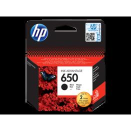 HP 650 SİYAH AVANTAJLI MÜREKKEP KARTUŞ CZ101AE