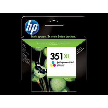 HP 351XL YÜKSEK KAPASİTELİ ÜÇ RENK MÜREKKEP KARTUŞ CB338EE (1)