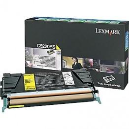 LEXMARK C522 SARI TONER C5220YS